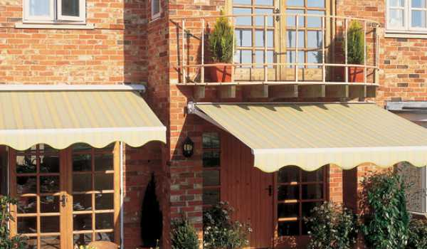 made to measure garden awnings